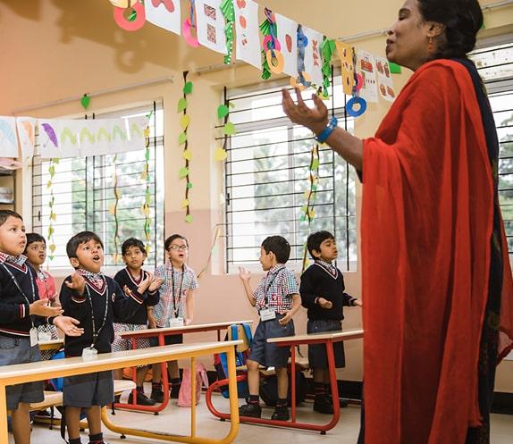 Montessori Education in RV Public School
