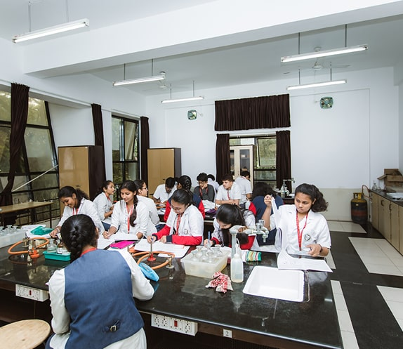 Science Laboratory of RV PU College