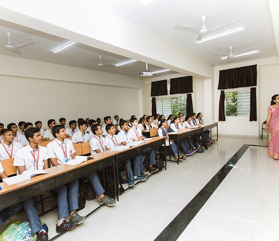 Classroom Session in the Best PU College in Bangalore