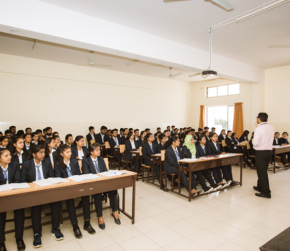 Live Classroom Session at SSMRV Degree College