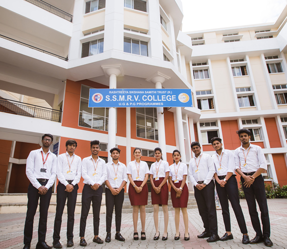 SSMRV Degree College - Students