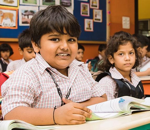 Students in RV Public School
