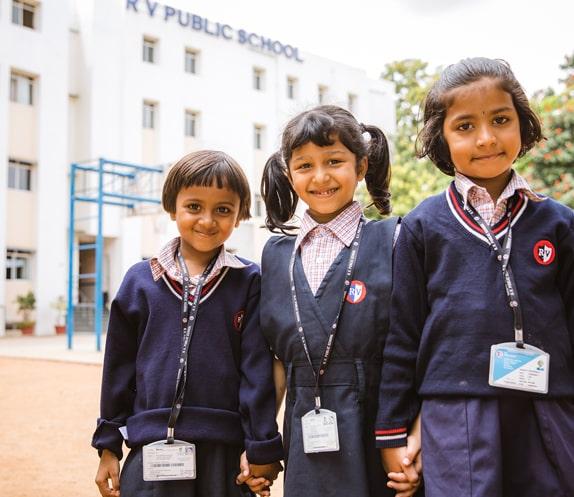 Primary School Students of RV Public School