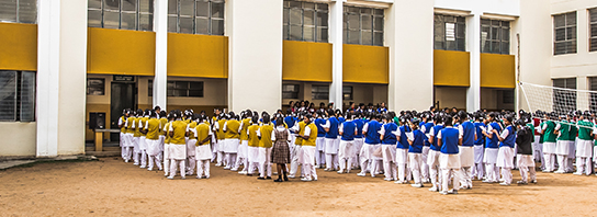 School Assembly at RV Girls High School