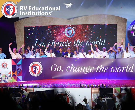 Brand Launch Event at RV Educational Institutions