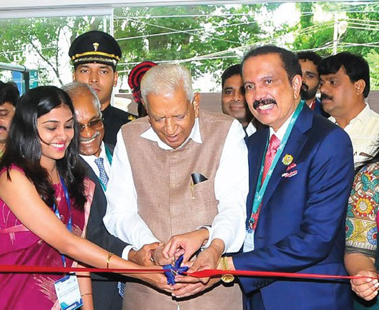 Inaugration of Aster-RV Multispeciality Hospital