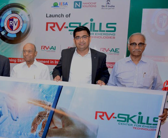 Launch Event of RV Skills for AE, VLSI, AI Courses