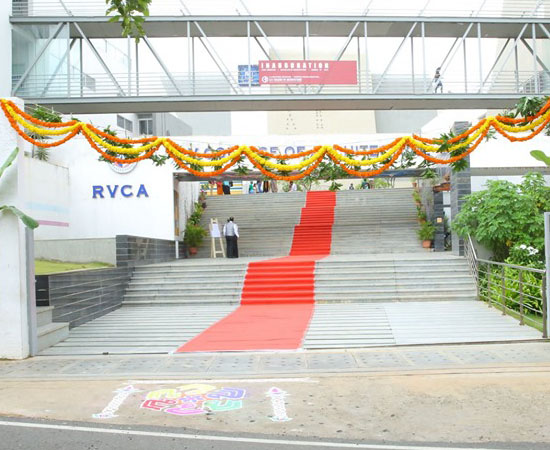 Event at Best Architecture College in Bangalore -RVCA