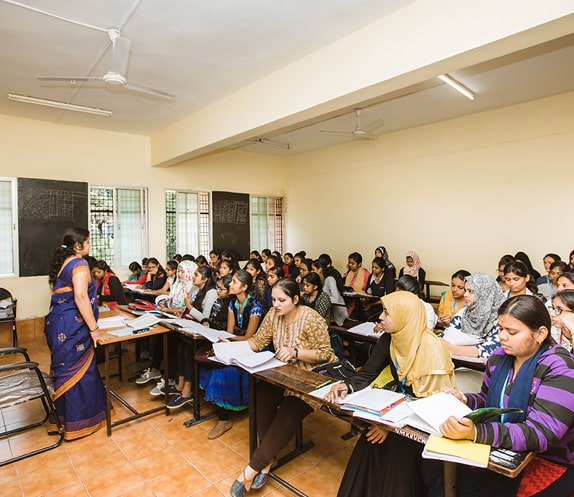 Academics in NMKRV College for Women in Bangalore