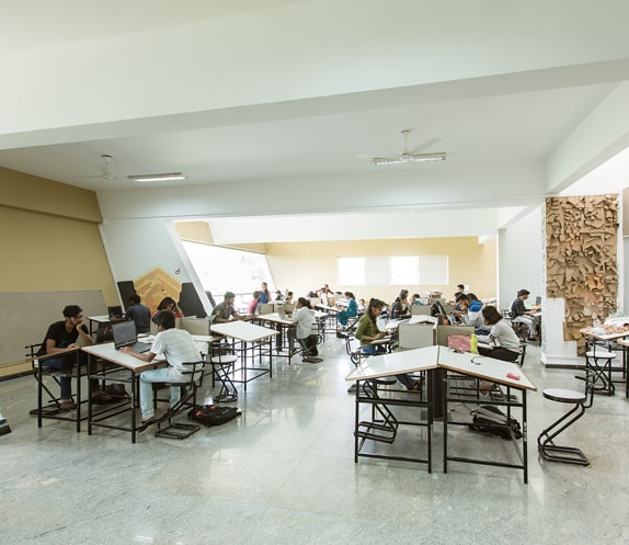 Studyroom at Architecture College in Bangalore