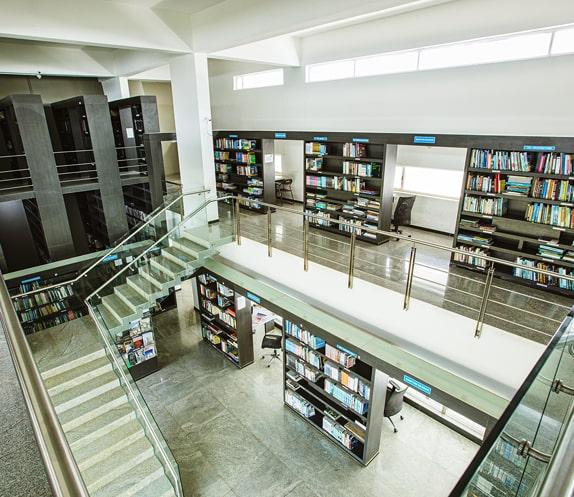 RV College of Architecture - Library