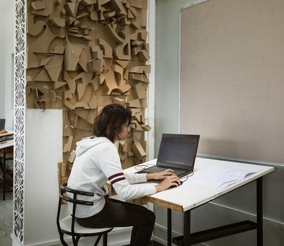 Study Desk at RV College of Architecture