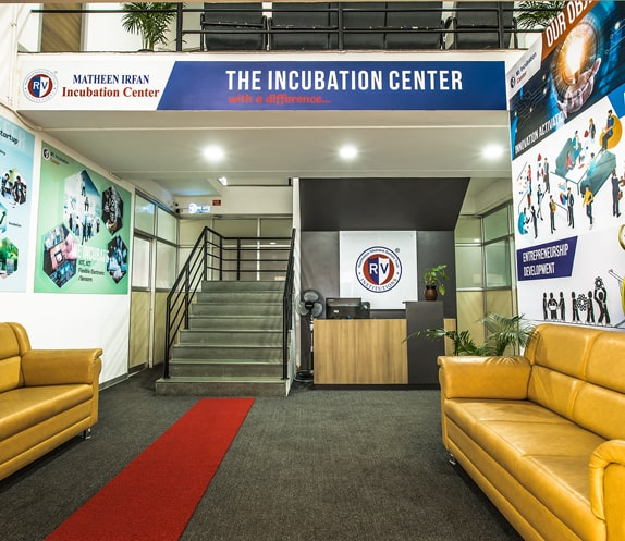 Incubation Centre of RV Engineering College