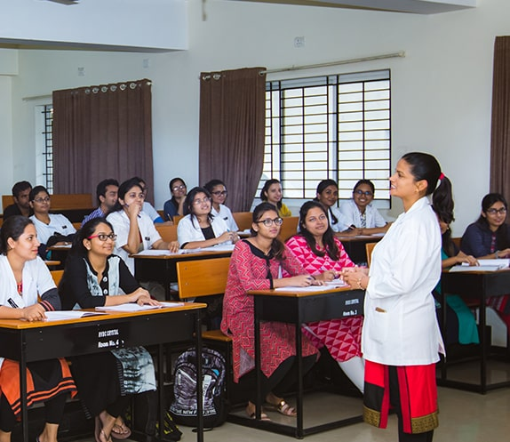Live Classroom Session in RV Dental College