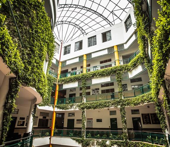 Campus Interiors View of RV Institute of Management
