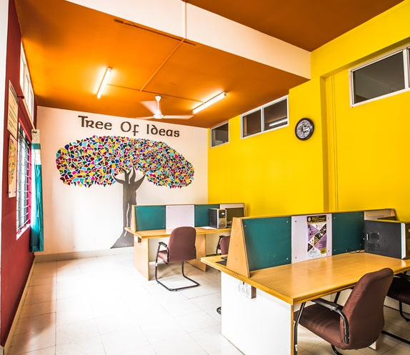 Study room at RVIM