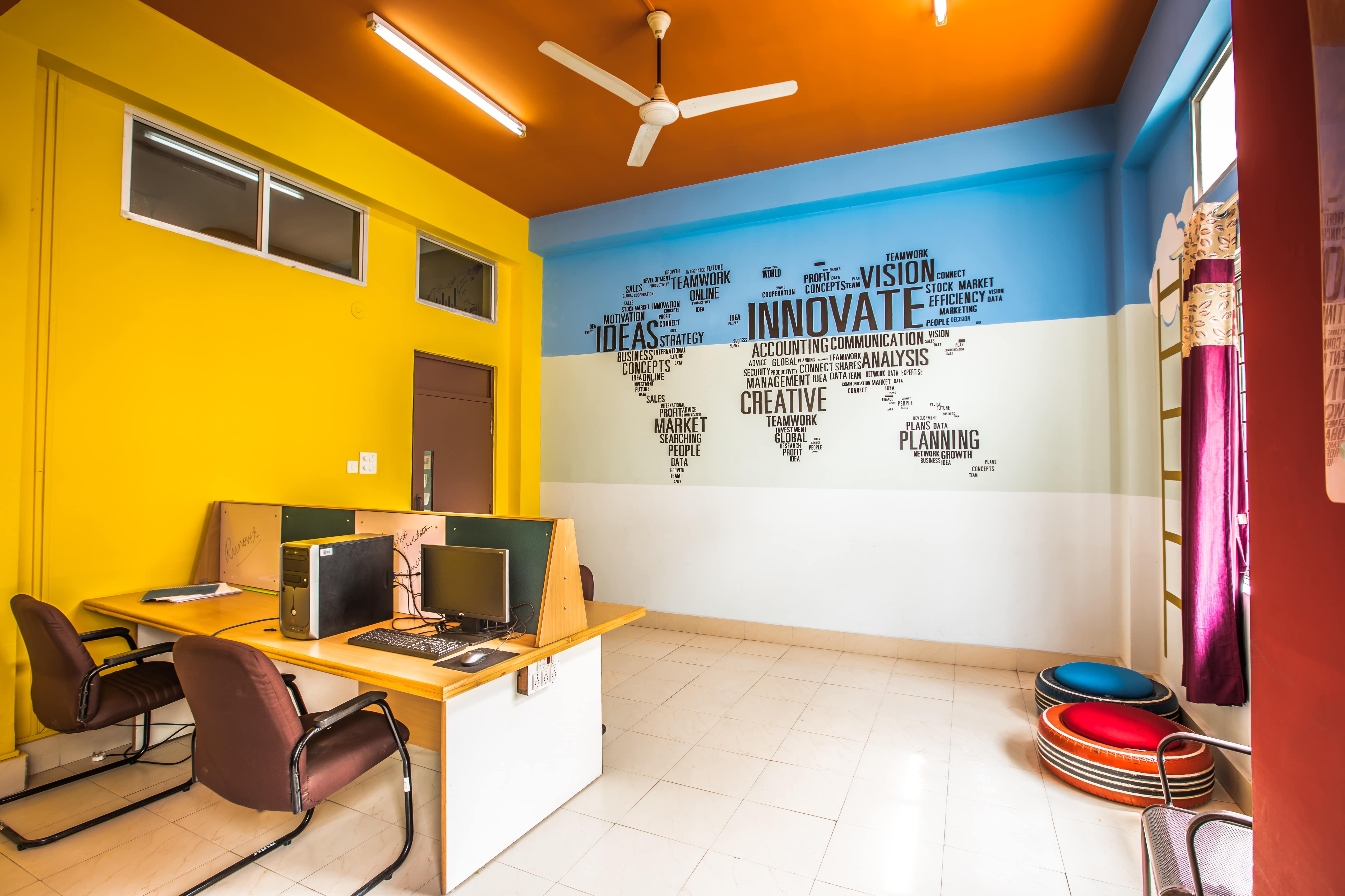 Study room at RVIM - Bangalore