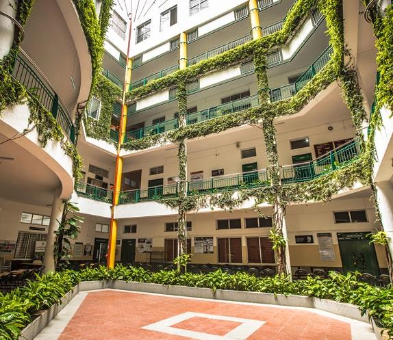 RV Institute of Management - Campus Interiors
